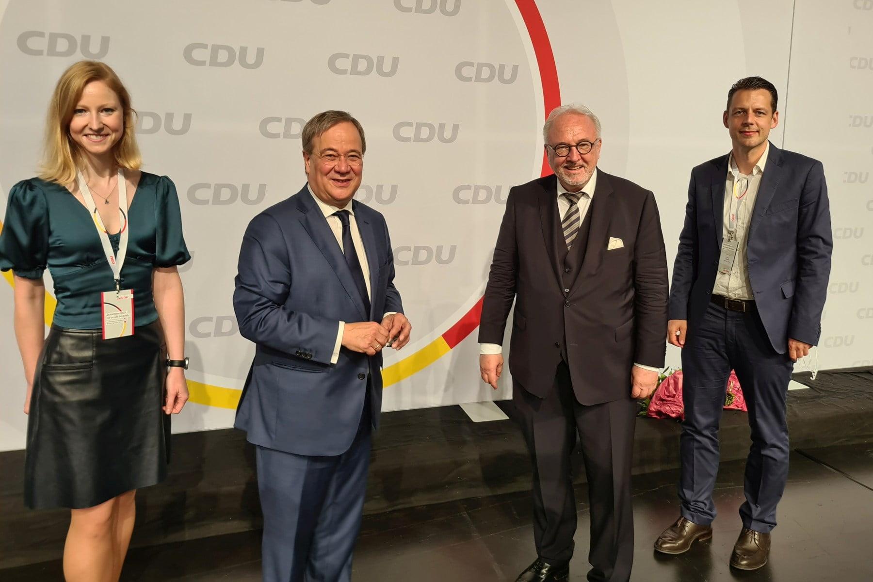 Armin Laschet ist Spitzenkandidat der CDU NRW
